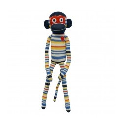 Monkey Sock Clementine Big