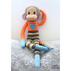 Sock Monkey Loranga Stor