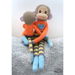 Sock Monkey Loranga Stor