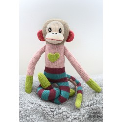Sock Monkey Rosalie Small