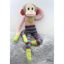Sock Monkey Rosalie Big