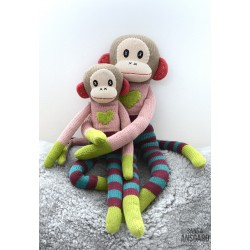 Sock Monkey Rosalie Stor