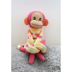 Sock Monkey Martine Liten