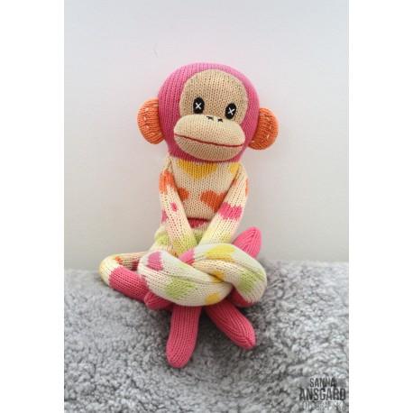 Sock Monkey Martine Liten